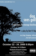 dog sees god - poster option 3