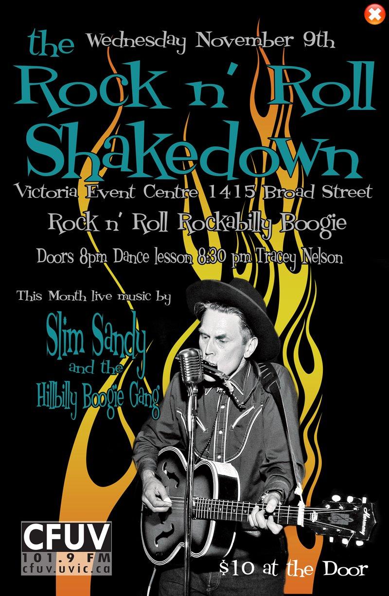 Rock N\' Roll Shakedown - November
