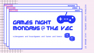 All Events For Games Night Mondays Victoria Event Centre